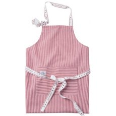 Lexington Striped Oxford Apron New Design Red