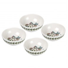 Botanic Garden 3.75 Inch Low Bowl Set of 4