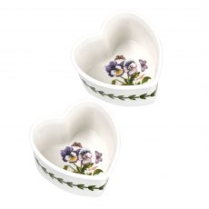Botanic Garden Heart Ramekin Set of 2