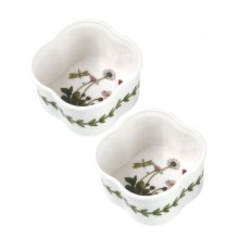 Botanic Garden Scalloped Ramekin Set Of 2