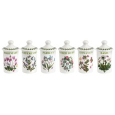 Botanic Garden Herb & Spice Jars Set of 6