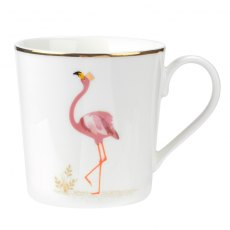 Sara Miller for Portmeirion Flamboyant Flamingo Mug