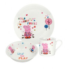 Portmeirion Peppa Pig 3 Piece Set