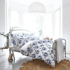 Turner Bianca Sprig Cotton Print Blue Single Duvet