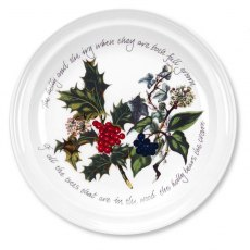The Holly & The Ivy Seconds 10 inch Plate