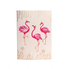 Sara Miller Flamingo A5 Notebook