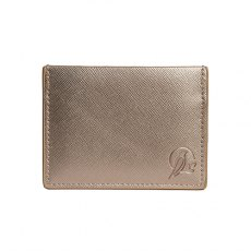 Sara Miller Gold Travel Card Holder