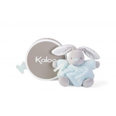 Kaloo Plume Medium Chubby Rabbit Aqua