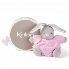 Kaloo Plume Medium Chubby Bear Pink