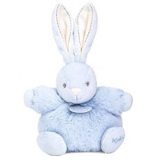 Kaloo Plume Small Chubby Rabbit Blue
