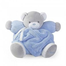 Kaloo Plume Small Musical Chubby Bear Blue