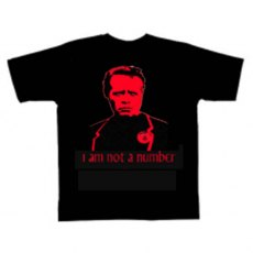 The Prisoner I Am Not A Number Red T-Shirt