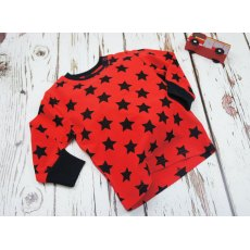 Blade & Rose Red and Black Star T-Shirt 6-12m