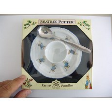 Beatrix Potter Peter Rabbit Egg Plate