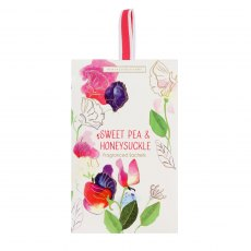 Sweet Pea & Honeysuckle Fragranced Sachet