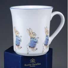 Beatrix Potters Peter Rabbit Nursery Mug