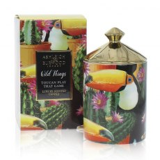Wild Things Toucan Play That Game Mango & Nectarine Luxury Scented Candle