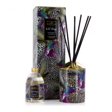 Wild Things Humming Leopard Black Raspberry Luxury Diffuser