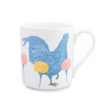 Thornback & Peel Chicken & Carnation Mug