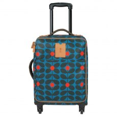 Orla Kiely Sixties Stem Travel Cabin Case - Kingfisher
