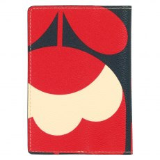 Orla Kiely Spring Bloom Passport Cover - Ruby