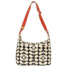 Orla Kiely Sixties Stem Sling Baby Bag - Charcoal Blue