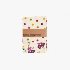 Emma Bridgewater Wallflower & Polka Dot Tea Towels