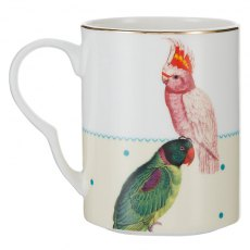 Yvonne Ellen Parrot and Cockatoo Mug