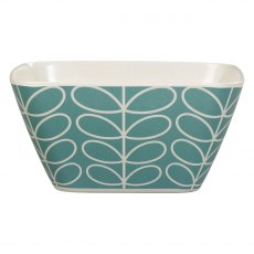 Orla Kiely Linear Stem Bamboo Bowl in Sky