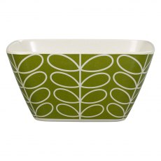 Orla Kiely Linear Stem Bamboo Bowl in Seagrass