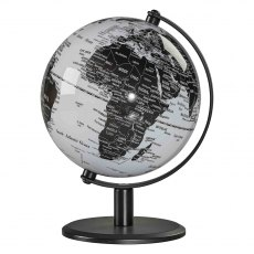 "6"" Monochrome Desk Globe"