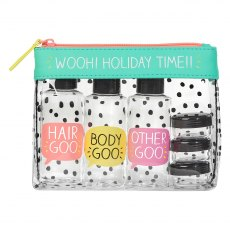 Happy Jackson Travel Pouch Set 'Wooh Holiday Time'