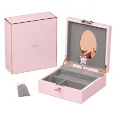 Ted Baker Musical Jewellery Box in Hero Pink