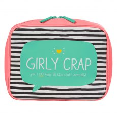 Happy Jackson Girly Crap Travel Bag