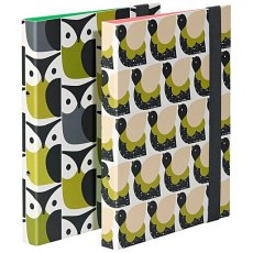 Orla Kiely Birds Ringbinders set of 2