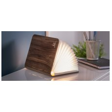 Gingko Mini Walnut Smart Book Light