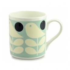 Orla Kiely Early Bird Light Blue Quite Big Mug