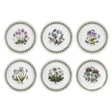 Botanic Garden 5 inch Bread Plate Set Of 6