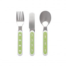 Sophie Allport Safari Childrens Melamine Cutlery Set
