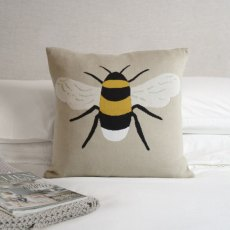 Sophie Allport Bees Knitted Statement Cushion