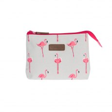 Sophie Allport Flamingos Canvas Make Up Bag