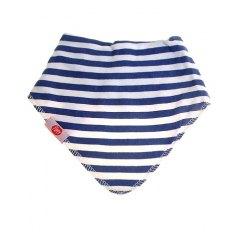 Zippy Baby Bandana Dribble Bib Blue Stripes