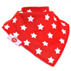 Ziggle Bandana Dribble Bib Baby 4 pack Blues