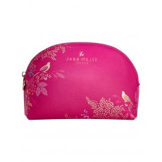 Sarah Miller Pink Cosmetic Bag Small