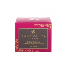 Sara Miller Cherry Blossom, Raspberry and Shea Butter Lip Balm