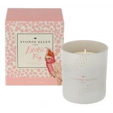 Yvonne Ellen Exotic Fig Wax Filled Glass Candle