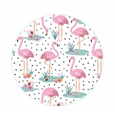 Wild Thoughts Flamingo Compact Mirror