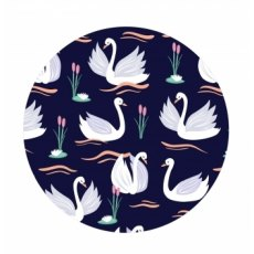 Wild Thoughts Swan Compact Mirror