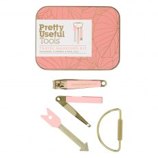 Pretty Useful Tools Travel Manicure Kit - Sunset Pink