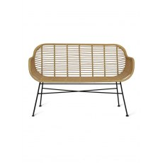 Hampstead All Weather Bamboo Bench